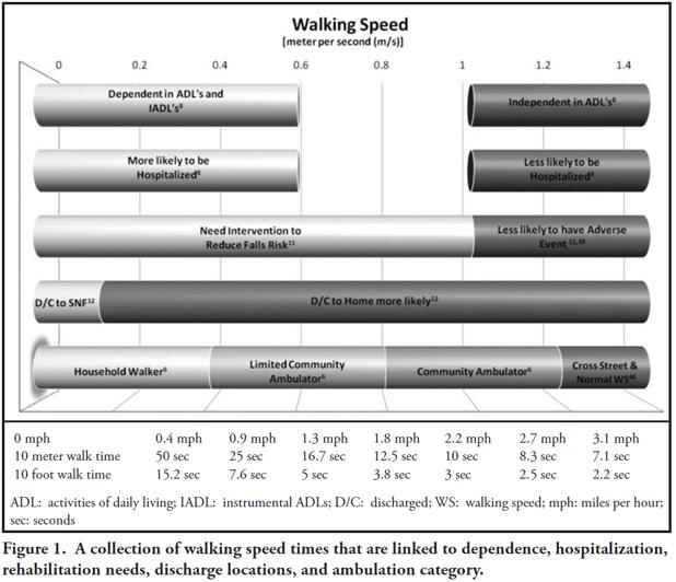 Importance of Walking Speed